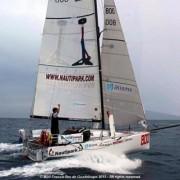 Frédéric Denis, Skipper Nautipark, Mini Transat