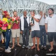 Frederic Denis sur Nautipark s'impose en Guadeloupe
