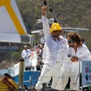 Victoire de Gwénolé Gahinet et Paul Meillhat sur la Transat AG2R