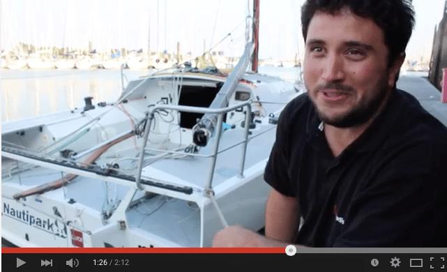 Vidéo - Mise à l'eau - Frédéric Denis et le 800