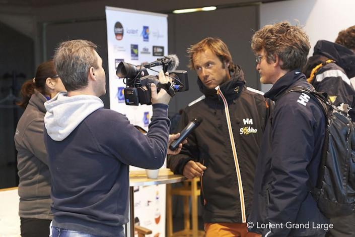 Frédéric Denis, Thomas Coville, Nautipark / Lorient BSM