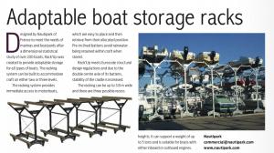 déplacement de bateau et stockage à sec
