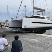 PARKLEV 30T CATA, la nouvelle référence pour manutentionner les catamarans